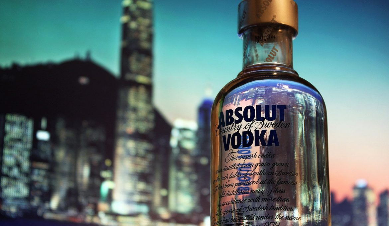 Absolut Vodka – Absolut reiner Branntwein