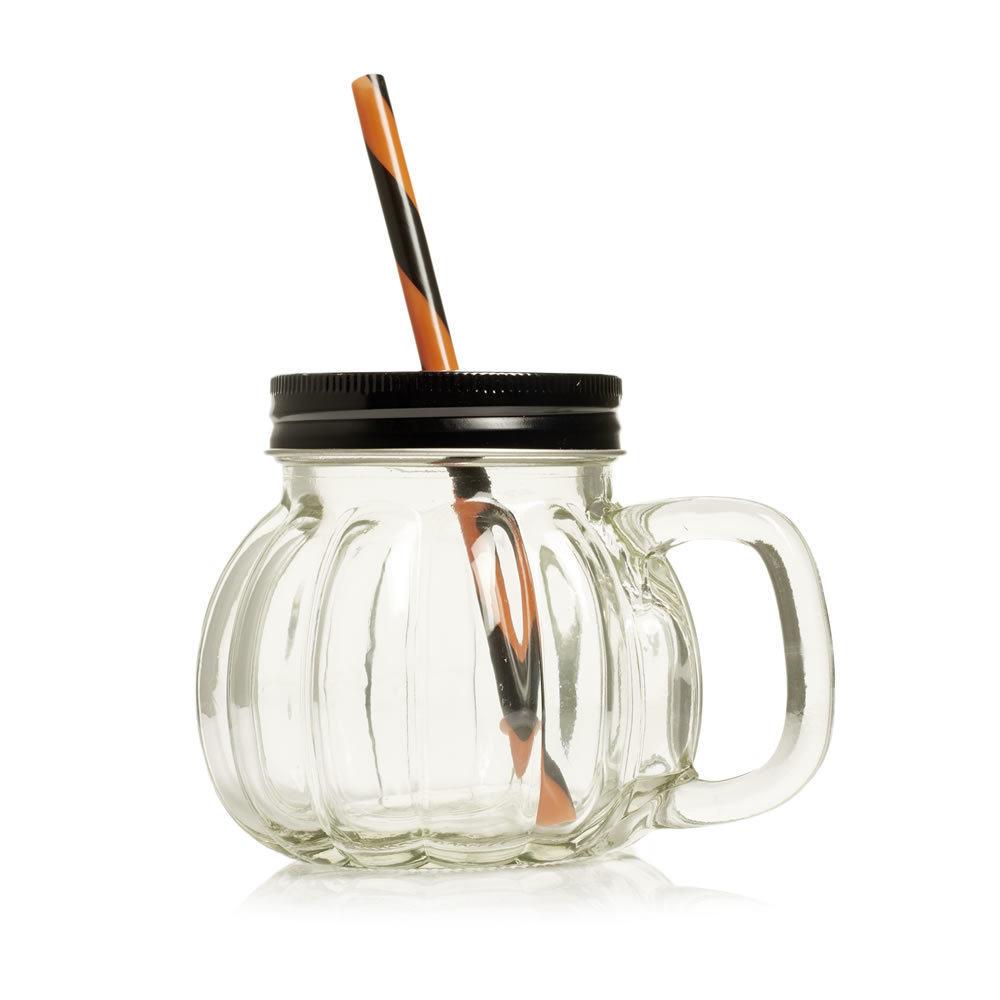 Halloween Drinking Jar