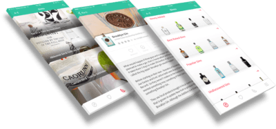 Ginto App Interface
