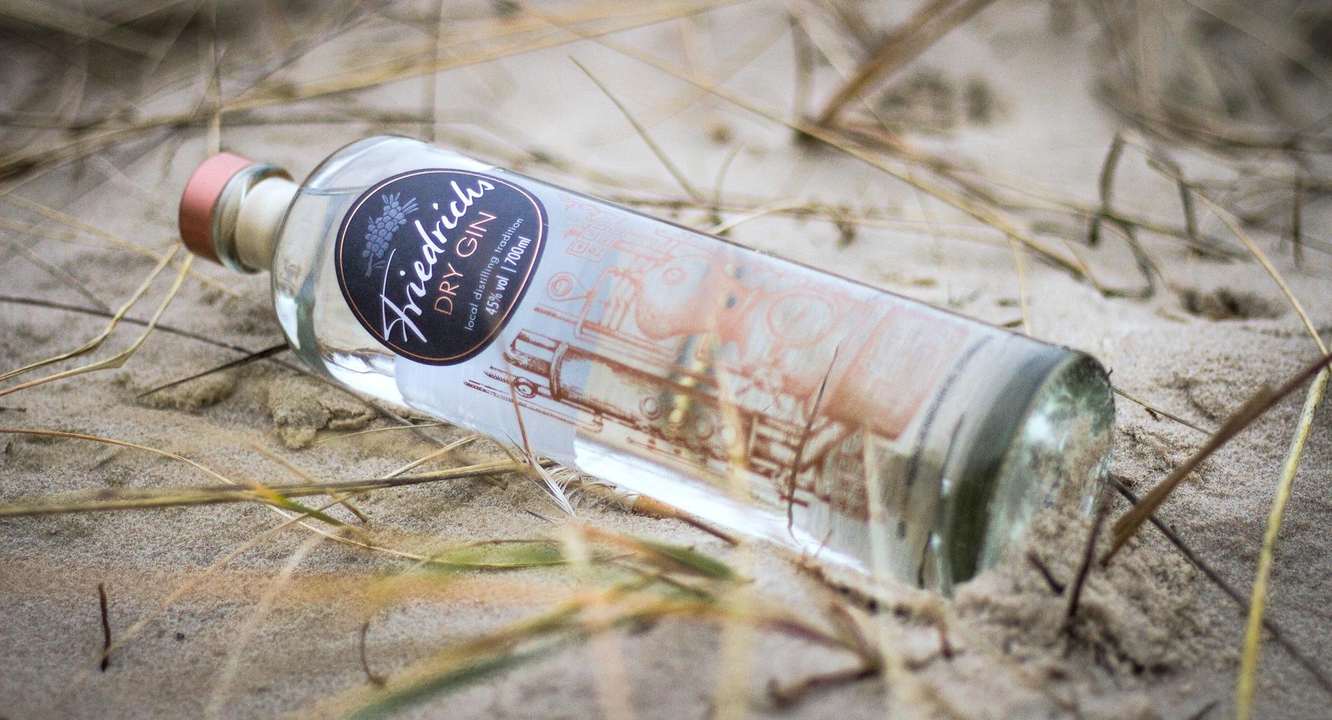 friedrichs dry gin in den duenen