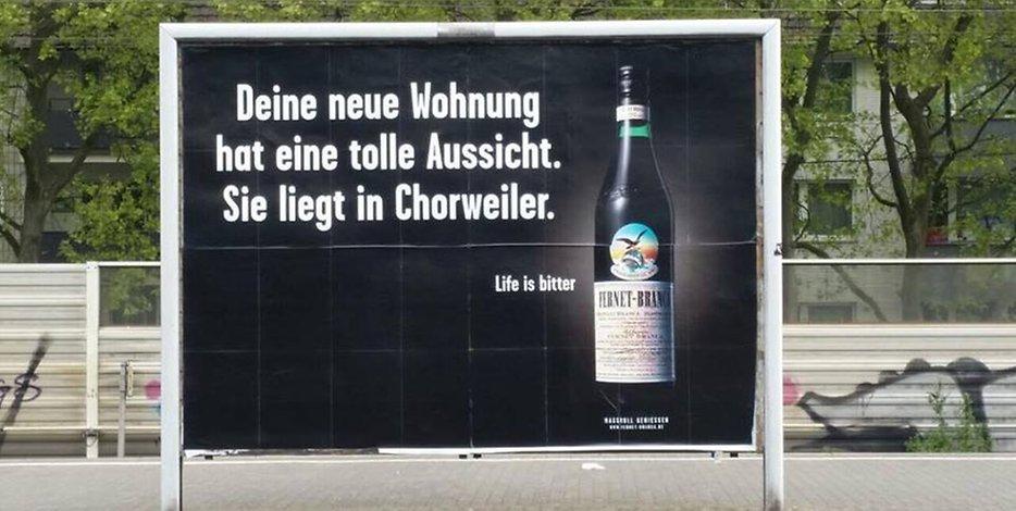 Chorweiler Kümmel vs Fernet Branca