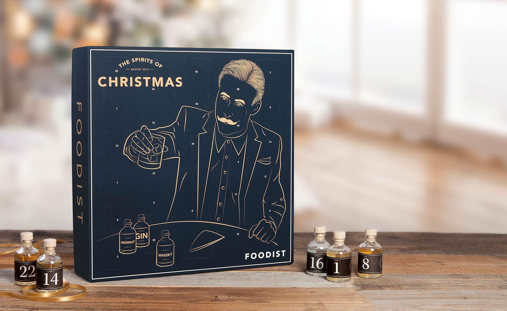 Foodist Weihnachtskalender.Spirits Adventskalender 2017 Von Foodist Bar Trends De
