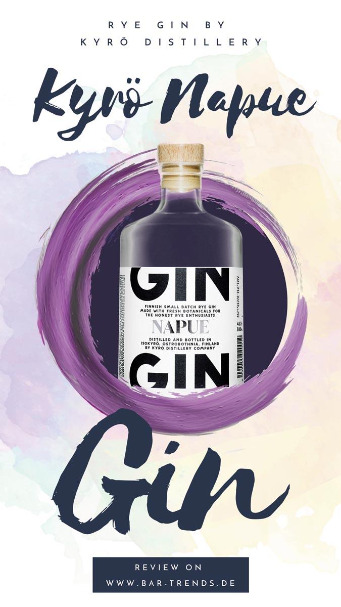 Kyrö Napue gin Pinterest Promotion Banner