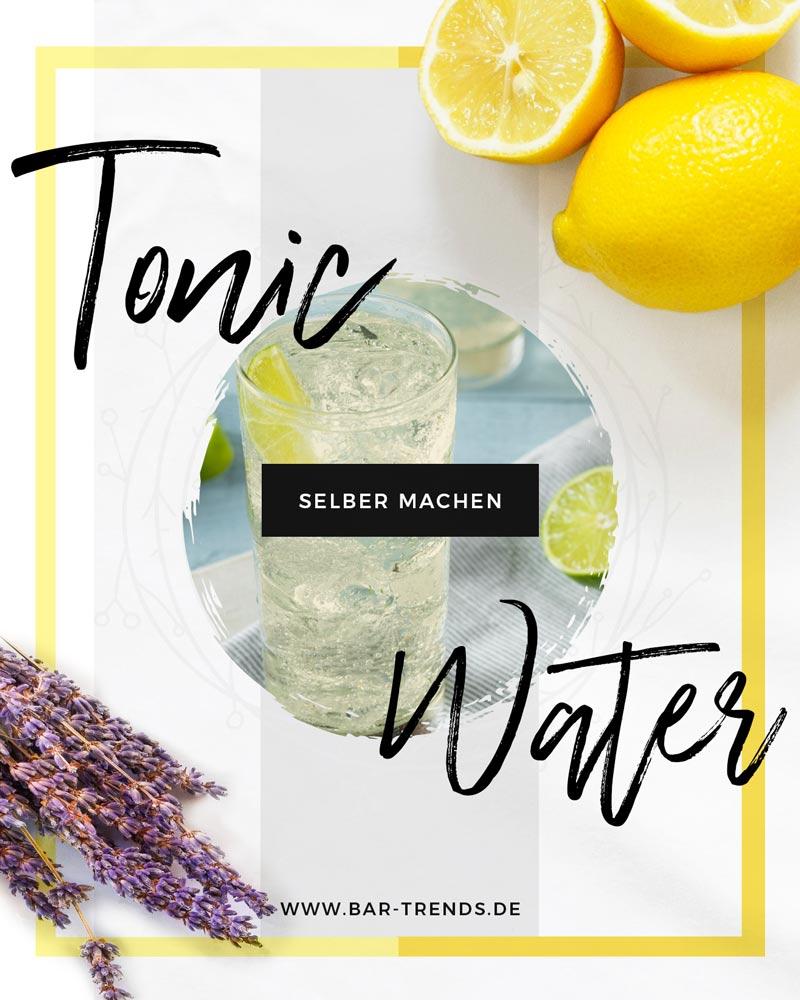 Dein eigenes Tonic Water selber machen - Pinterest Banner