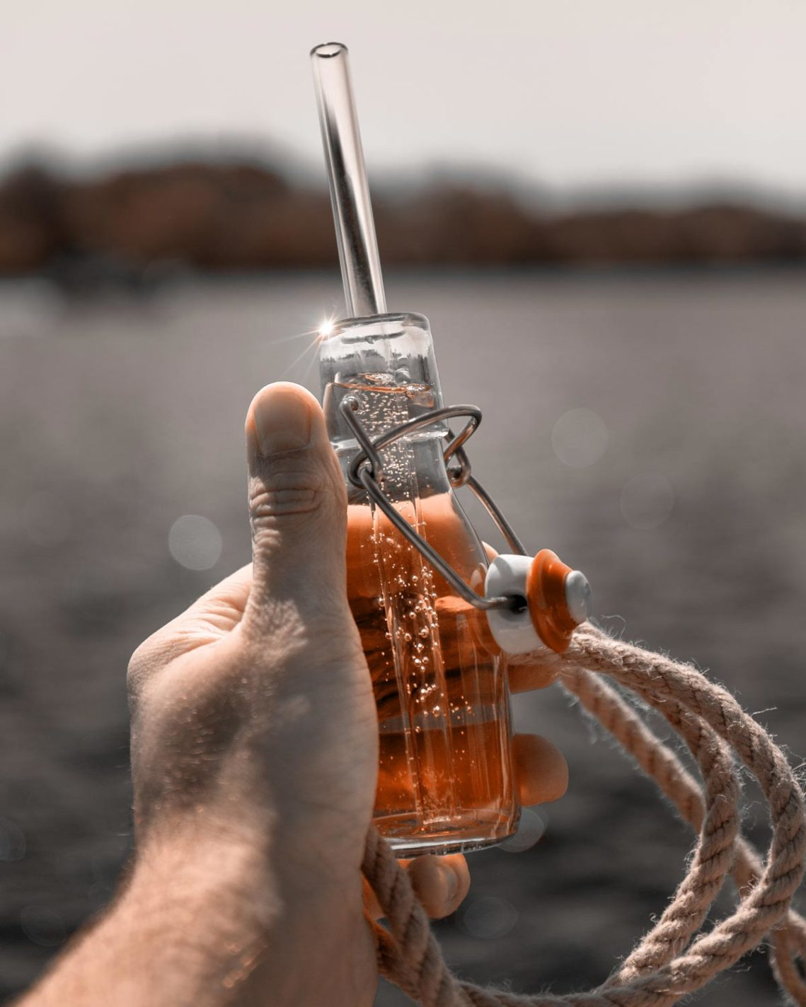 Trinkhalme aus Glas von Leibel Gastro Concept