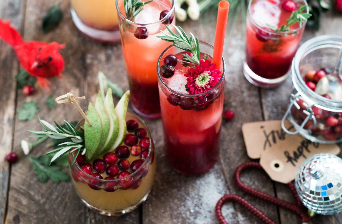 Alkoholfreie Weihnachts-Cocktails