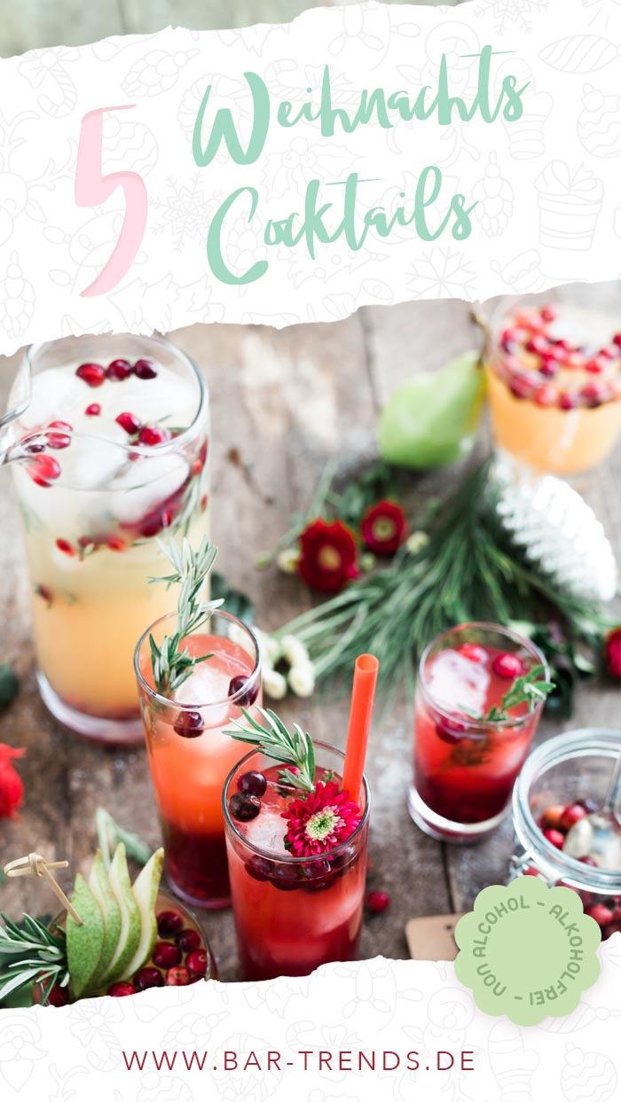 Pinterest Banner Alkoholfreie Weihnachtsdrinks