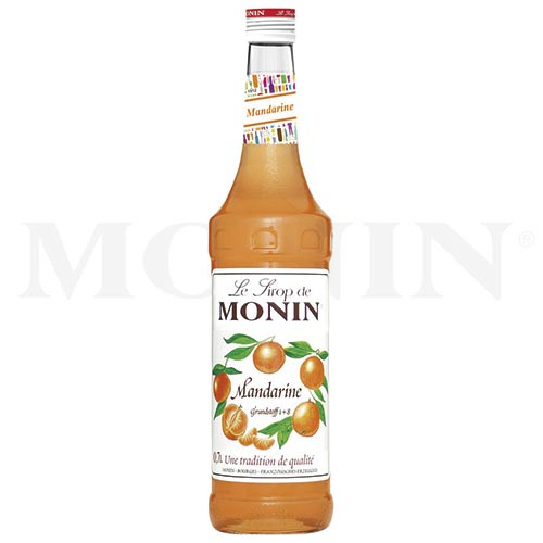 7 MONIN-Sirupe zur Weihnachtszeit (Mandarine)