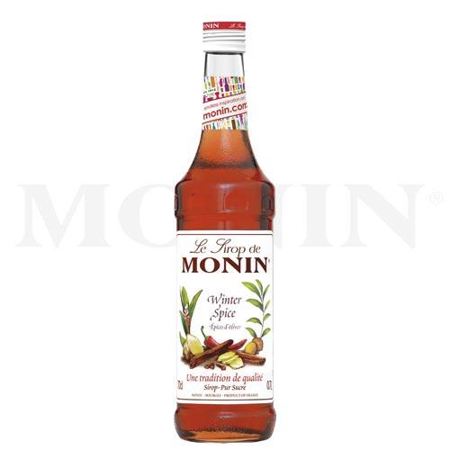 7 MONIN-Sirupe zur Weihnachtszeit (Winter-Spice)