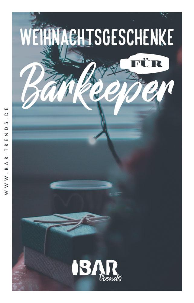 Weihnachtsgeschenke für Hobby Barkeeper Pinterest Banner